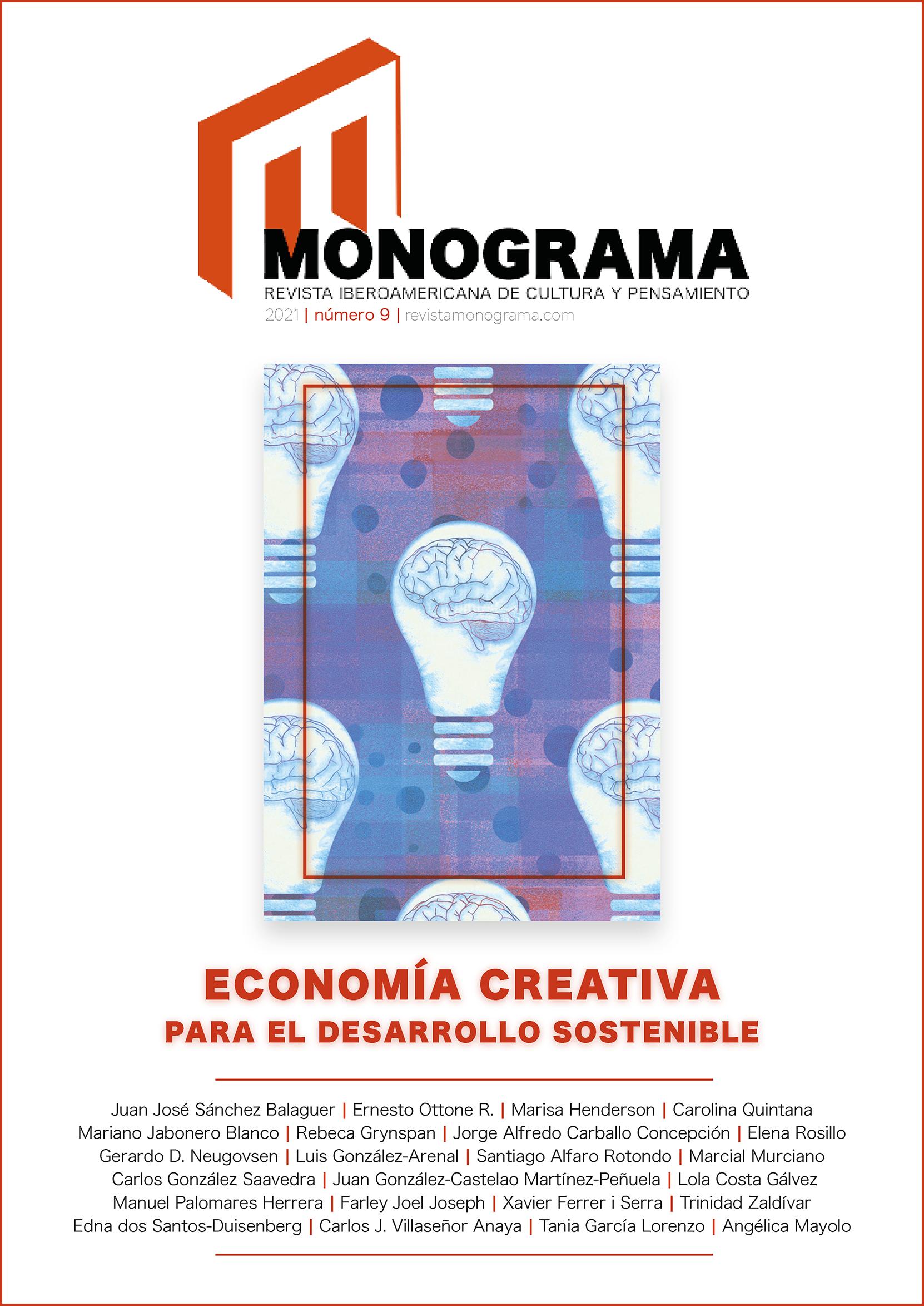 Ver Núm. 9 (2021): Economía creativa para el desarrollo sostenible
